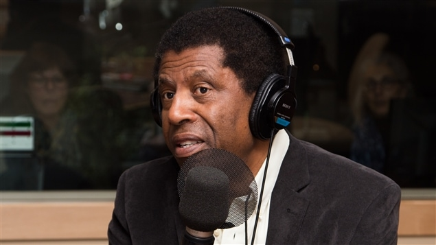 L'écrivain montréalais d'origine haïtienne et académicien Dany Laferrière