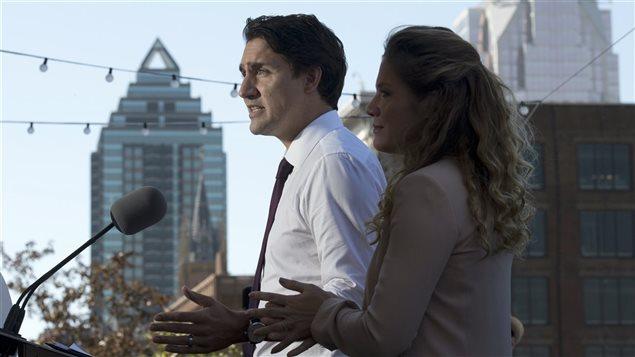 Un rôle amélioré de première dame pourrait permettre à l'épouse de Justin Trudeau, Sophie Grégoire, de sortir de l'ombre.
