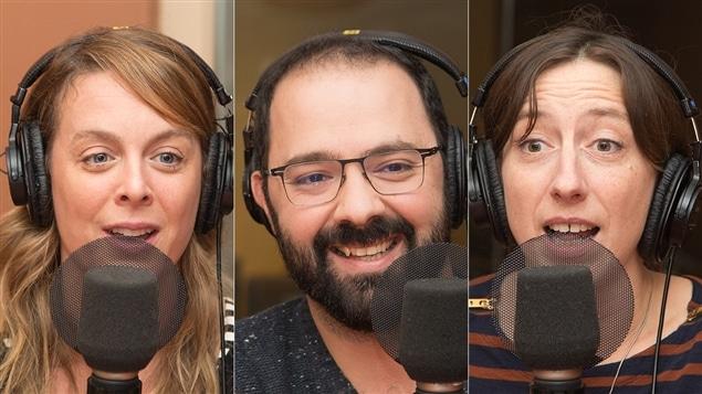 Julie Le Breton, Mani Soleymanlou et Fanny Britt