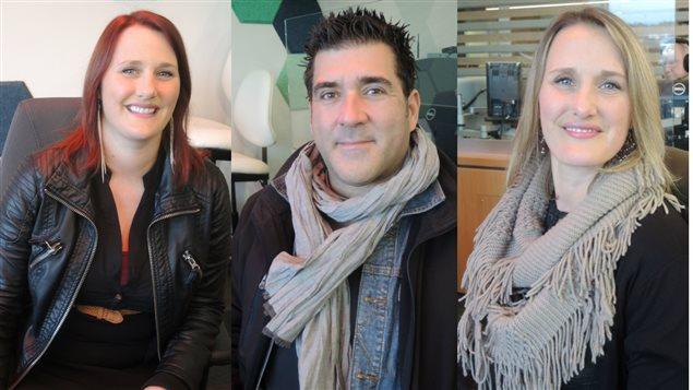 Pastelle Leblanc, Pascal Miousse et Emmanuelle Leblanc