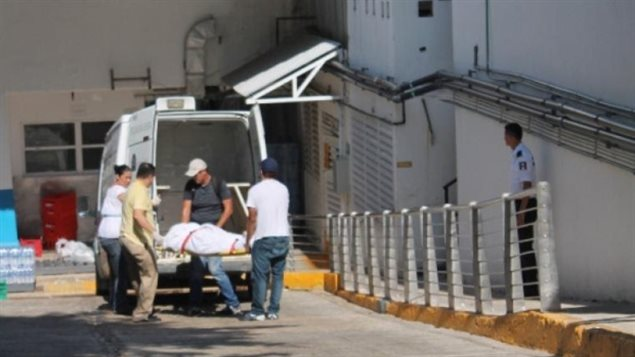 The bodies of Charles and Dorothy MacKenzie were found Monday in a whirlpool at the hotel. (Edgar Olivares/Por Esto)
