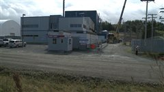 Les installations d'orbite Aluminae à Cap-Chat