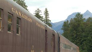 Le dernier crampon du chemin de fer transcontinental