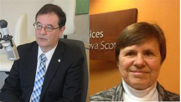 Jean-Pierre Alexandre, et Claudette Legault