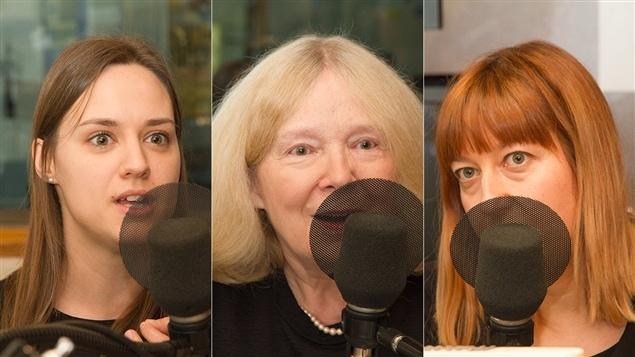 Dina Gilbert, Agnès Grossmann et Mélanie Léonard