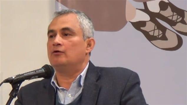 Francisco Ramírez Cuellar, abogado, activista sindical y responsable de Derechos Humanos en Funtraenergética, Colombia.