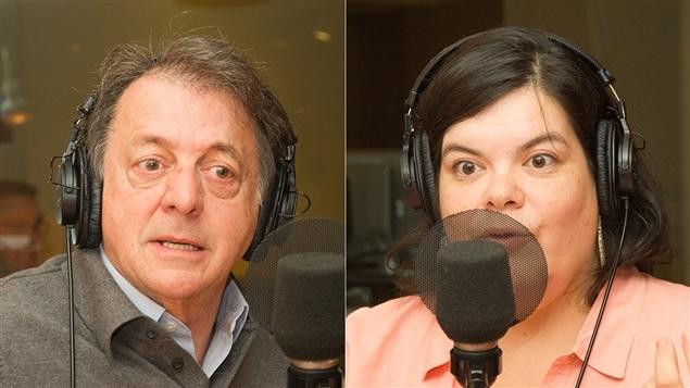 Jean-Luc Mongrain et Melissa Mollen Dupuis