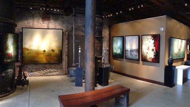 L'exposition «Le temps et sa réflexion» de France Jodoin à la Galerie Thompson Landry.