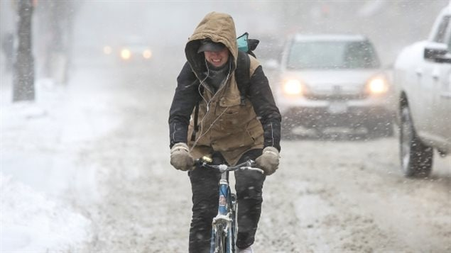 Cycling in winter poses several challenges, but those who do says it can be pleasant and fun.
