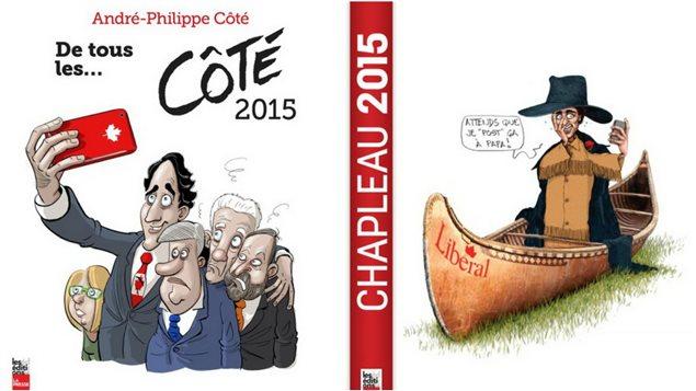 Les r�trospectives 2015 d'Andr�-Philippe C�t� et Serge Chapleau