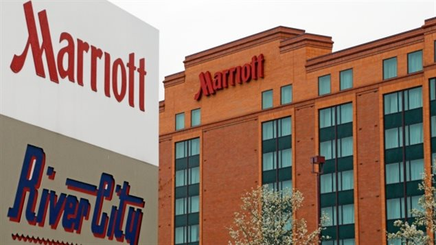 Un hôtel de la chaîne Marriott à Cranberry Township, en Pennsylvanie (archives)