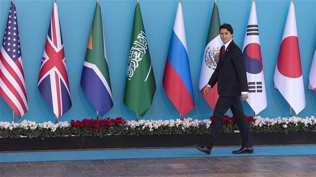 Justin Trudeau fait ses premiers pas sur la sc�ne internationale au sommet du G20.