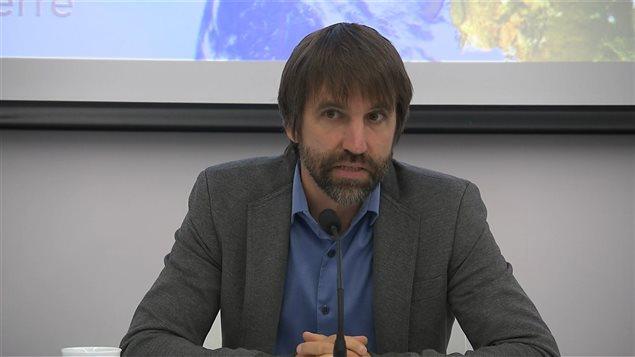 Steven Guilbeault, directeur principal d'Équiterre.