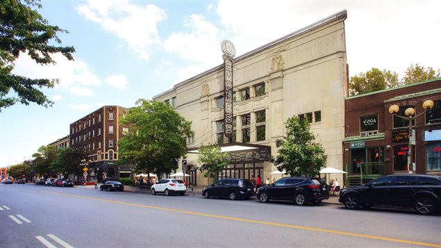 Projet de revitalisation du cinéma Empress dans NDG