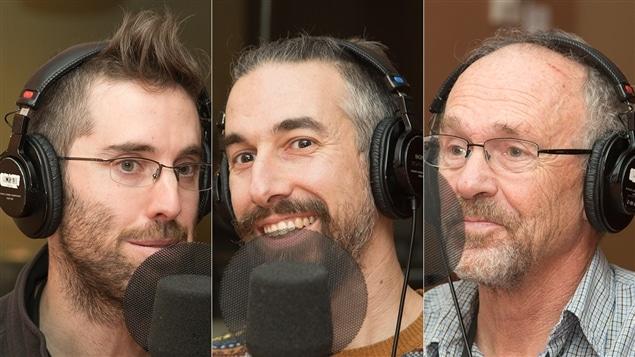 Vincent Miron, Louis-Philippe Saint-Laurent et Alex MacLean
