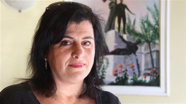 Frida Anbar, auteure et directrice de l'Union culturelle libanaise de Montréal