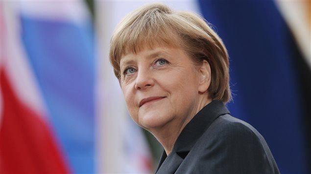 La chancellière allemande Angela Merkel en 2012