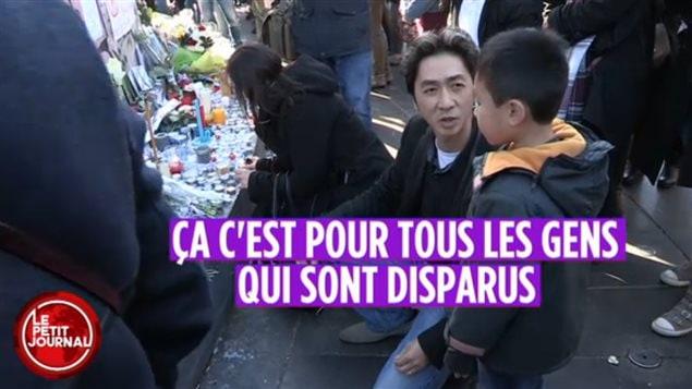 La conversation entre Angel Le et son fils au micro du Petit Journal de Canal  a fait le tour du web.
