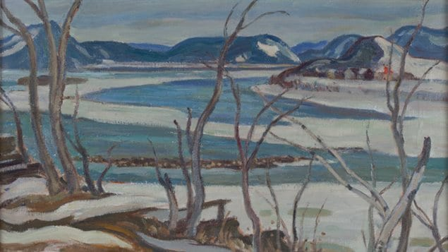 This painting by famous Canadian painter Alexander Young Jackson will be among dozens of works by prominent Canadian artists to be auctioned off by Montreal's Cosner Art Gallery on Dec. 2, 2015.