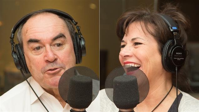 Jean-François Lépine et Mireille Deyglun