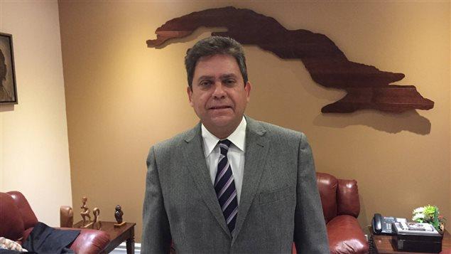 Director De Prensa De La Canciller A Cubana Visita A Radio Canad