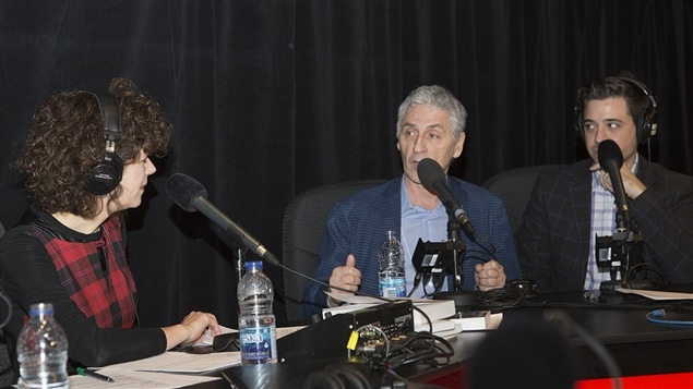 Catherine Perrin, Larry Tremblay et Stéphane Mailhiot