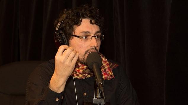 Le journaliste indépendant Frédérick Lavoie