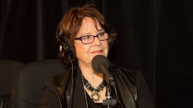 L'auteure Lise Gauvin