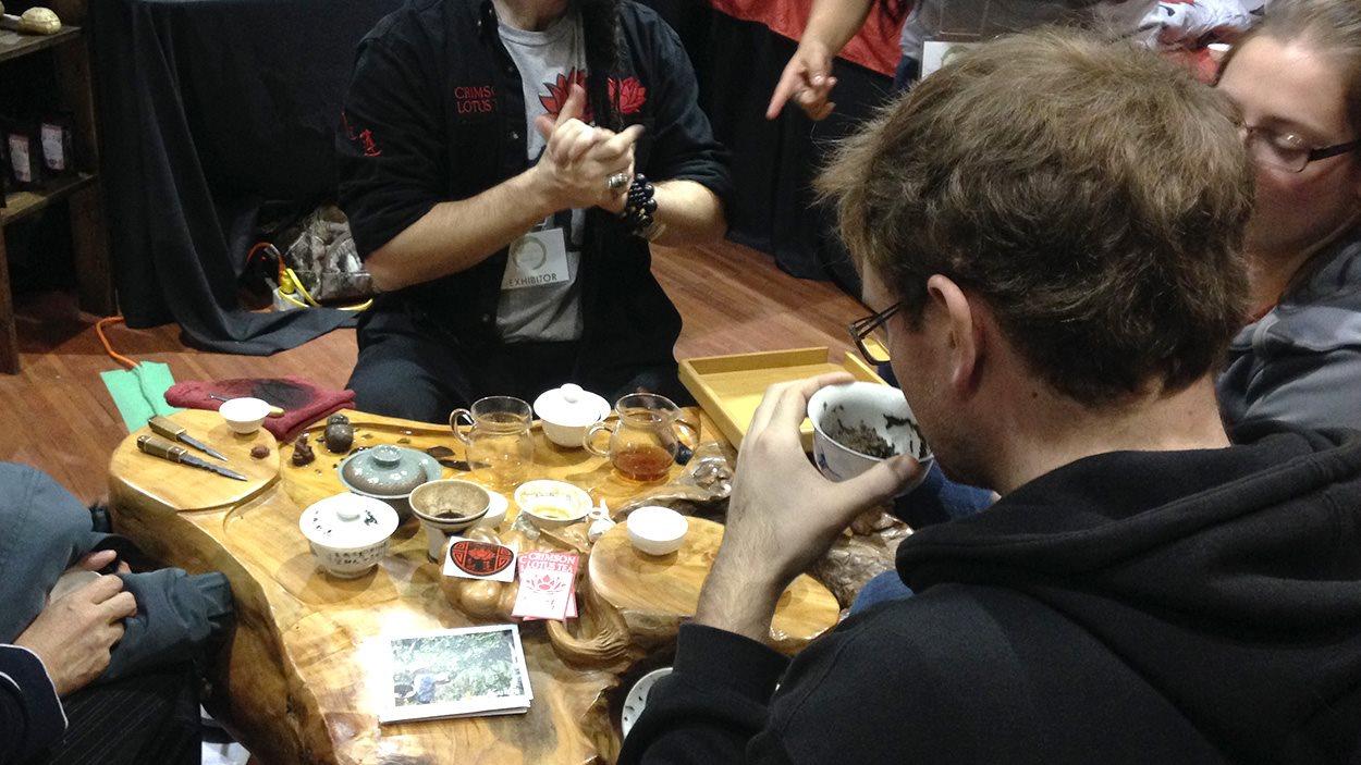 Dégustation de thé au Festival de thé de Vancouver