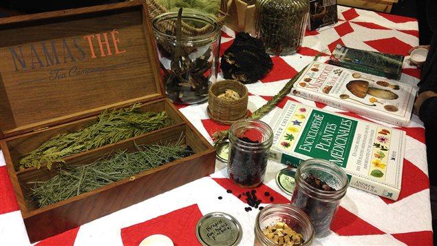 Des produits de Namasthé de Vancouver
