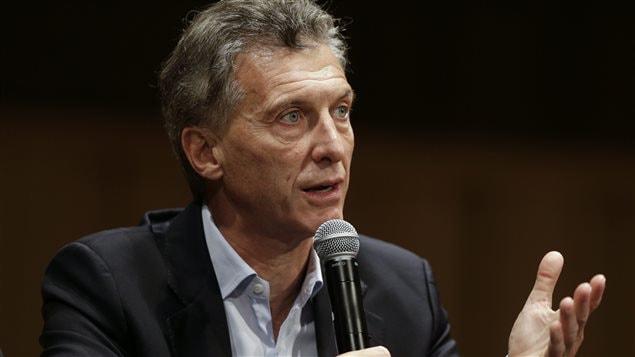 El presidente de Argentina, Mauricio Macri.