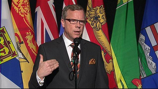 Le premier ministre de la Saskatchewan, Brad Wall, annonce que sa décision de démissionner a été pensée depuis le mois de juin.