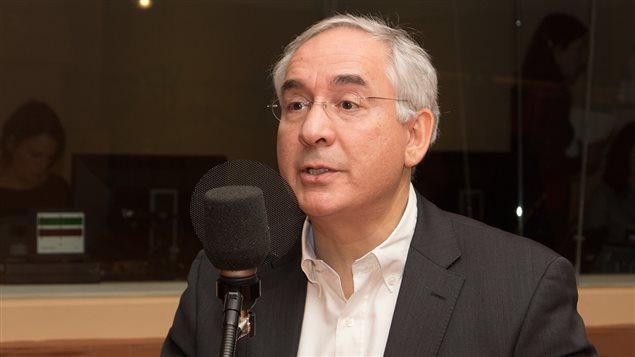 Karim Benyekhlef, le directeur du Laboratoire de cyberjustice de l'Université de Montréal