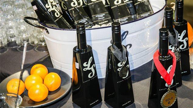 Des bouteilles distinctives du LS Cream