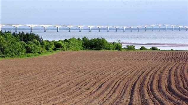 This undated photo provided by Atlantic Canada Tourism Partnership shows the Confederation Bridge from Prince Edward Island in 2006.
