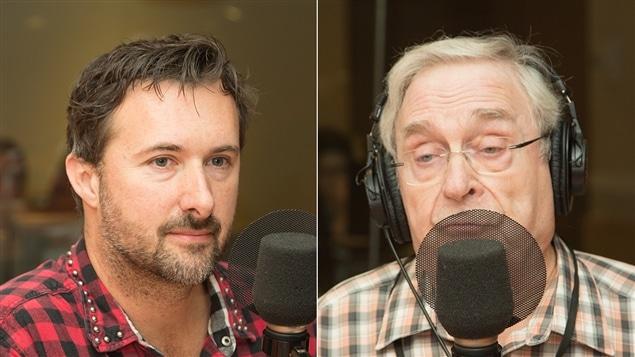 Patrick Brunette et Roland Jacob