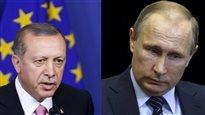 Erdogan veut rencontrer Poutine à Paris lundi
