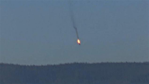 Le chasseur russe abattu par la Turquie
