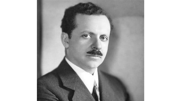 Photo d'Edward Bernays prise au début des années 1920