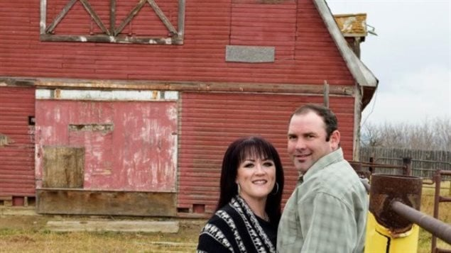Shandele Battle and her husband Ted of Delia, Alberta started a petition against applying health and safety laws to farms and ranches.