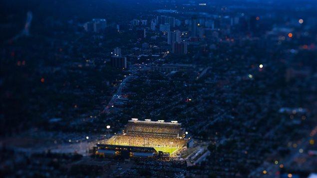 Le stade des Tiger Cats de Hamilton