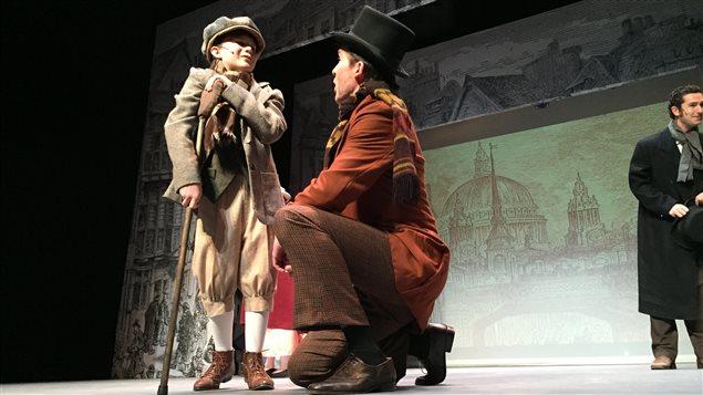Éric Bélanger amorce sa jeune carrière au Sudbury Theatre Centre.