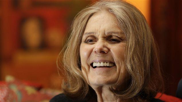 La féministe Gloria Steinem, en entrevue chez elle en octobre 2015