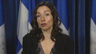 Davie : « Le gouvernement du Québec doit se tenir debout », dit Martine Ouellet