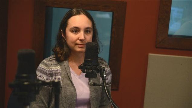 Isabelle Demers, professeure à l'IRME de l'UQAT