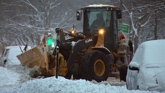 Complaining about snow clearing operations is a popular winter pastime in Montreal.