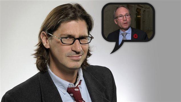 Jean-René Dufort parle des mots employés par le gouvernement pour gérer les finances.