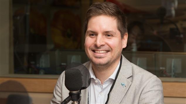 Pierre-Alexandre Blouin, vice-président de l'Association des détaillants en alimentation du Québec