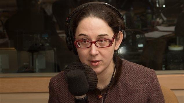 La journaliste et auteure Mélanie Loisel