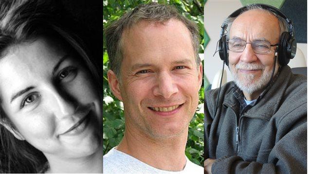 Anika Lirette, Martin Béland et Omer Chouinard
